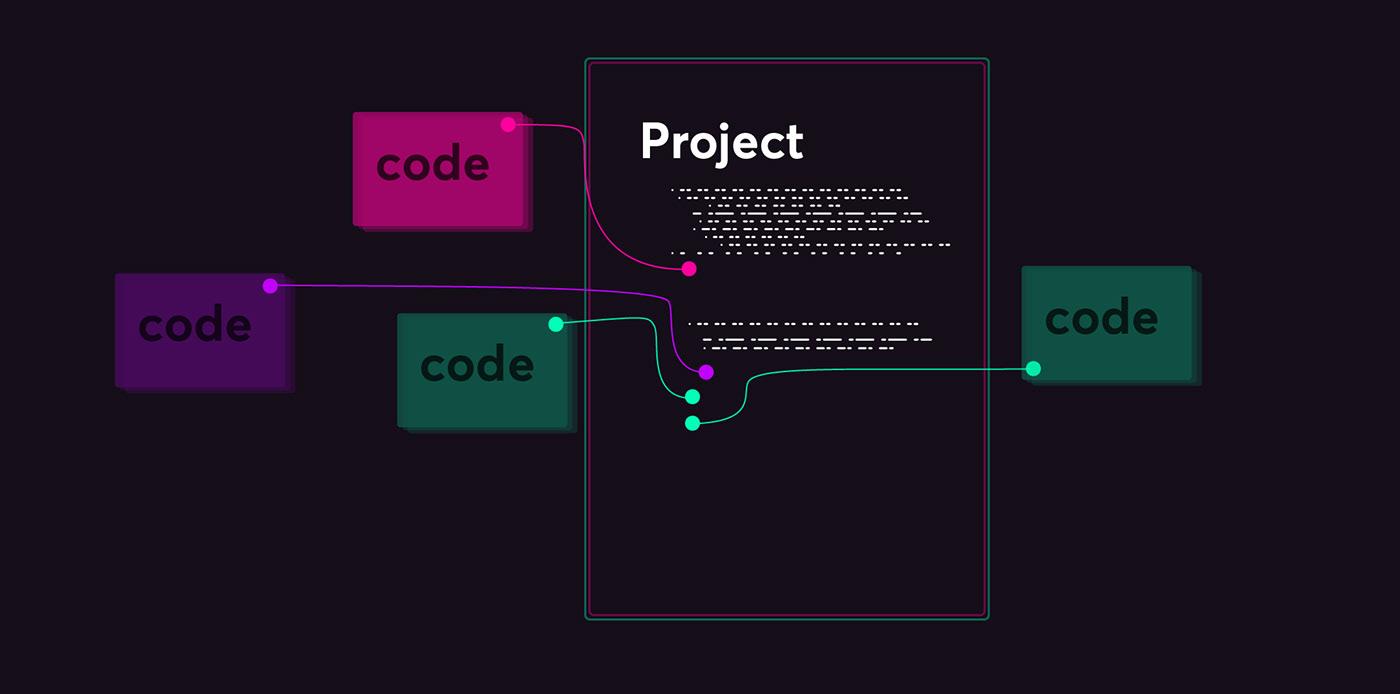 illustratio crypto neon Whale cheetah social media ai tech