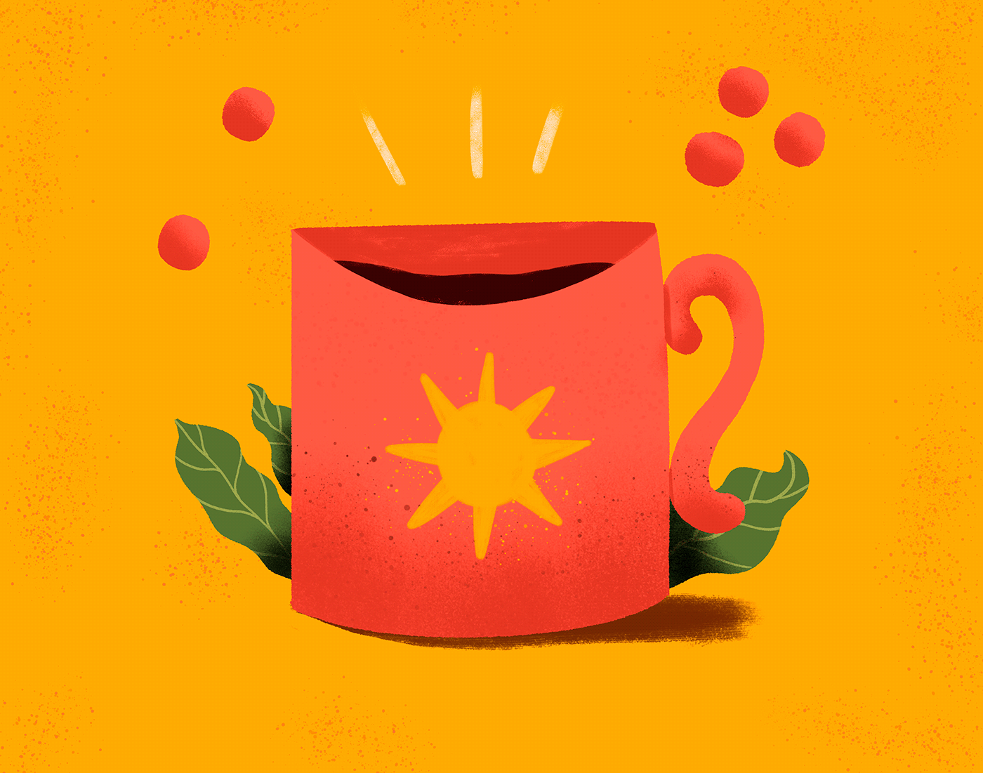cafe Coffee design identidade visual ILLUSTRATION  Ilustração animation  motion