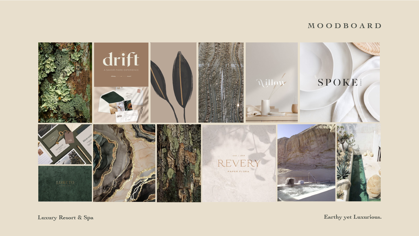 Brand Design branding  graphic design  hotel Identity Design Logo Design resort