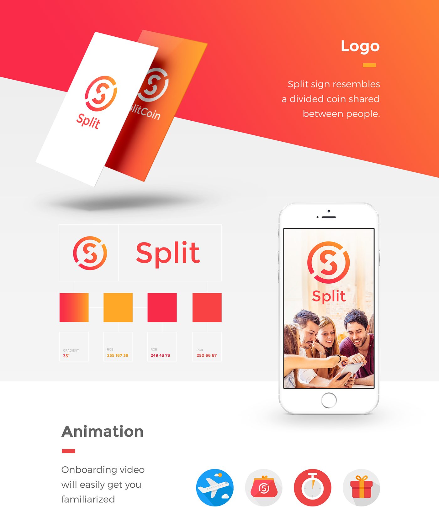 SPLIT | iOS App on Behance