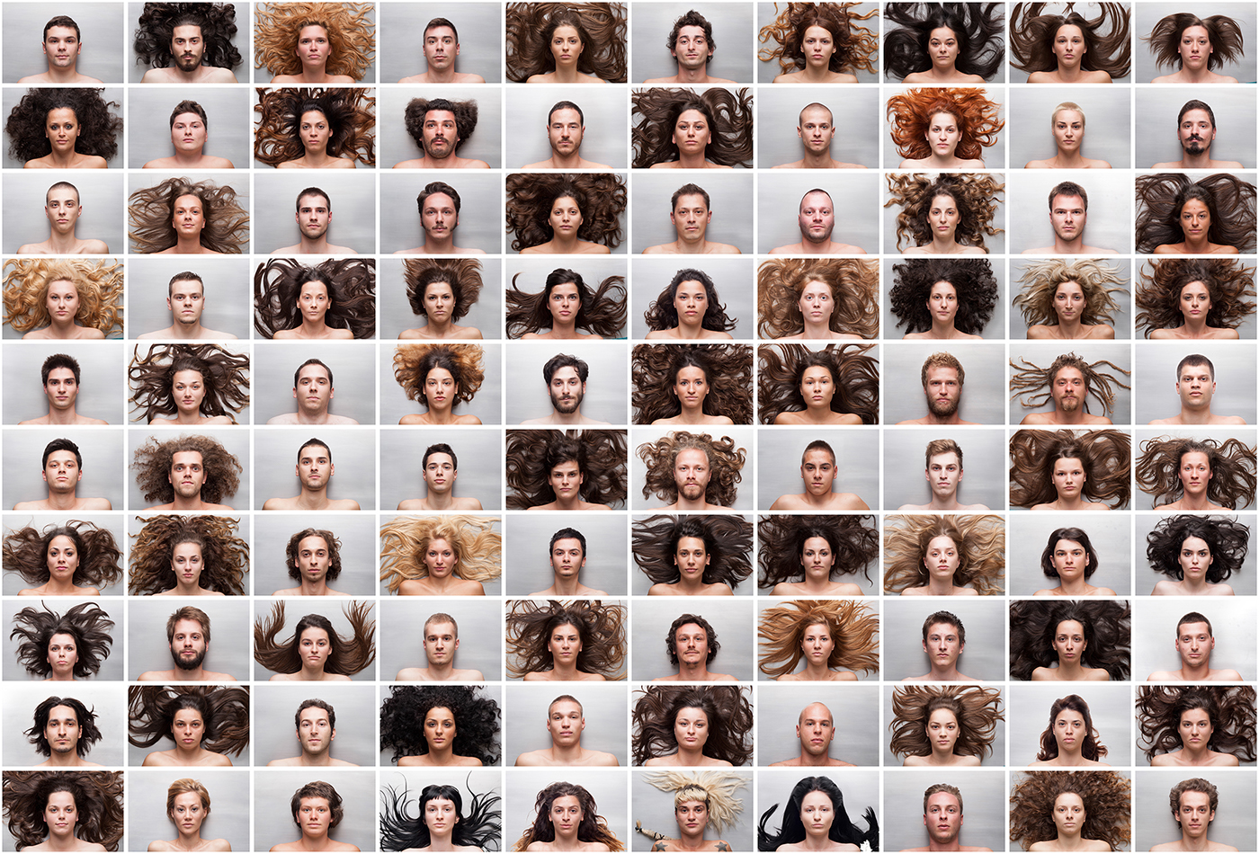 luka Klikovac memento life death time faces portraits