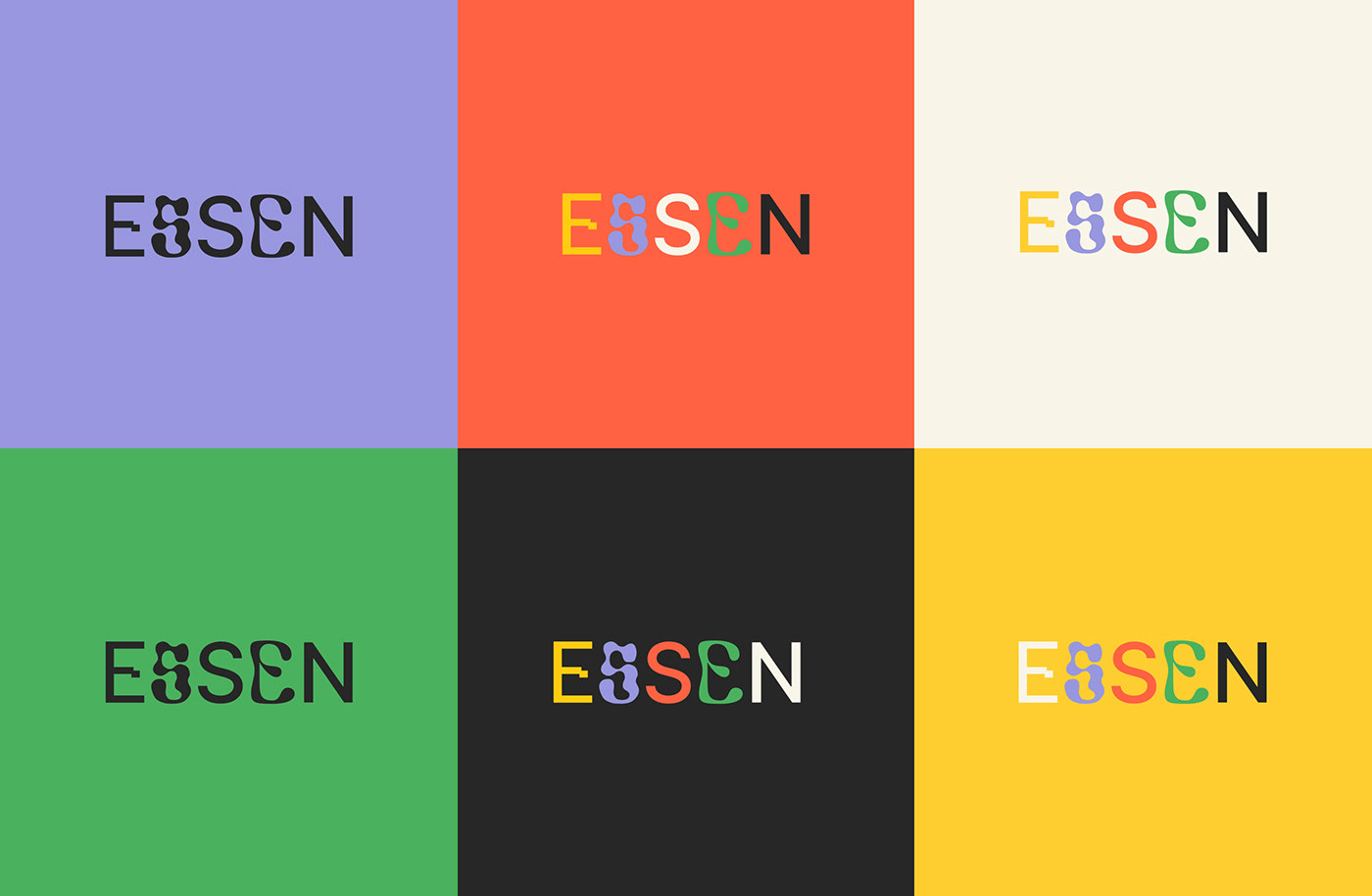 Advertising  branding  essen graphic system graphics identity poster typography   visual identity
