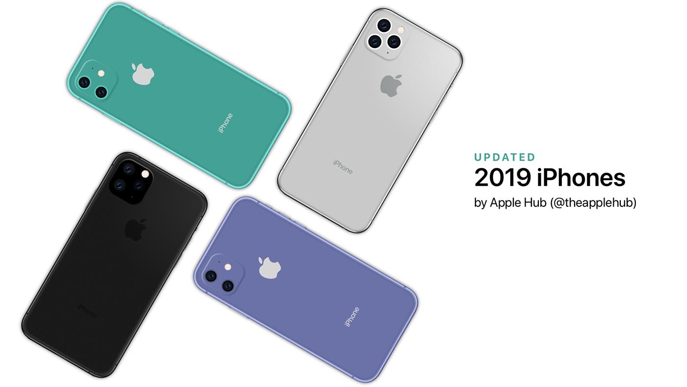 apple iphone iphone 11 iPhone XI iphone 11r iPhoneXIR concept Render