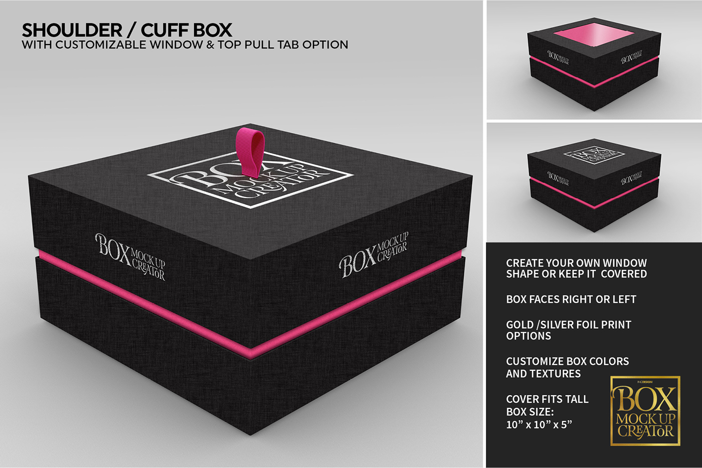 Square Box MockUp Creator with FREE Lite Version on Behance