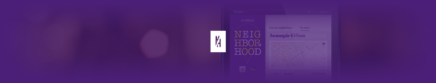 yamaha Yamaha Neighborhood D&AD location app promo