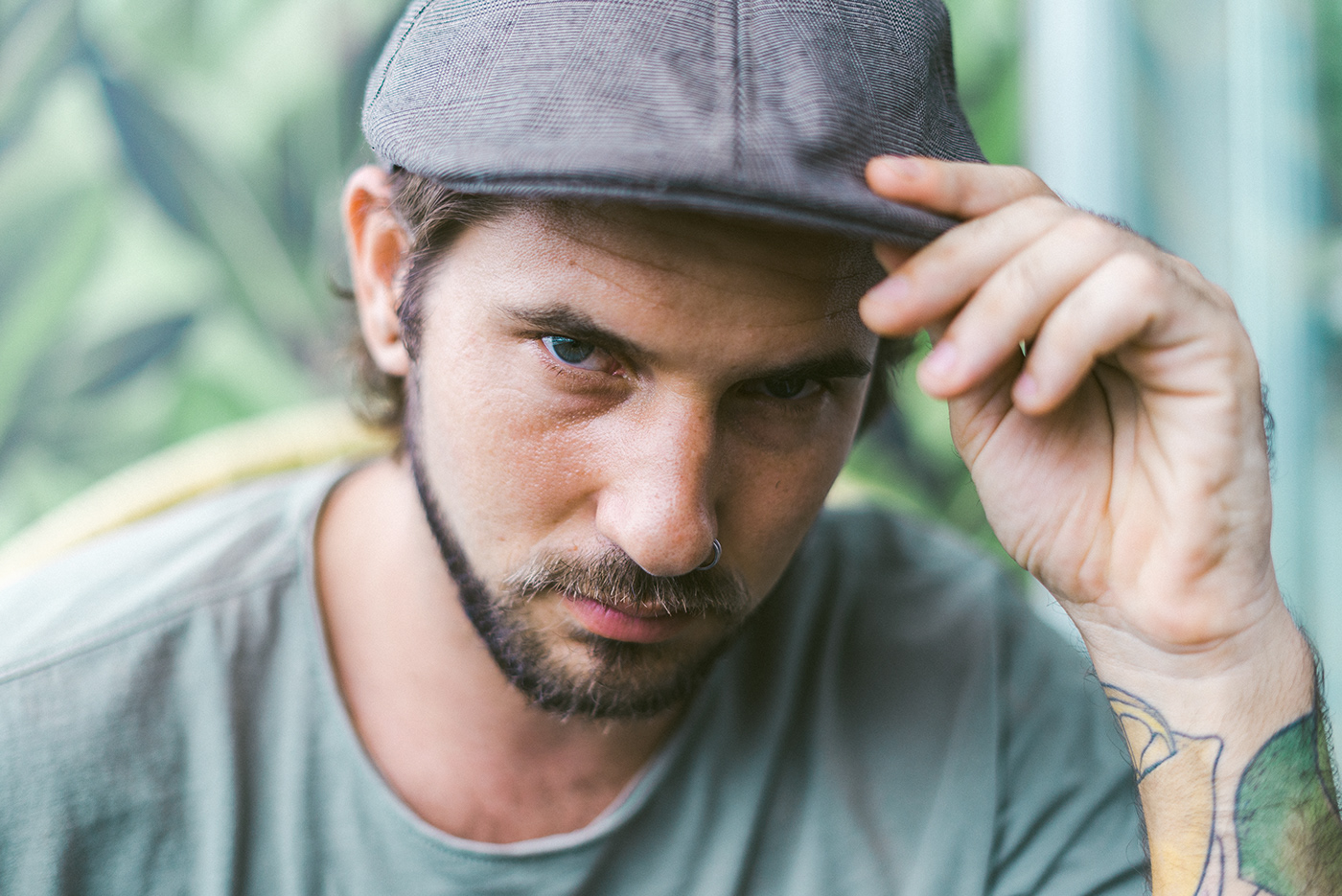 men model portrait Tropical