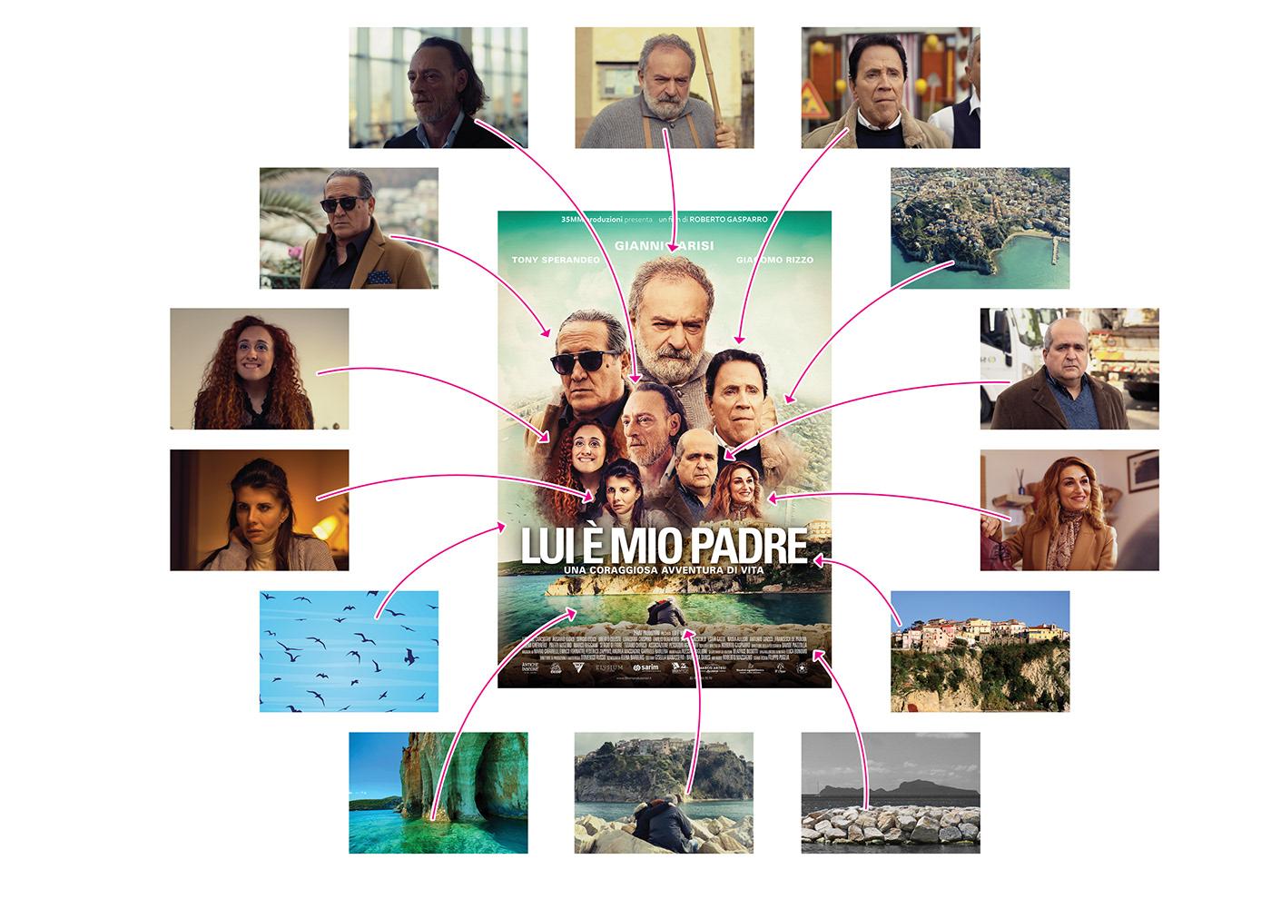 Cinema Film   locandina movie photocomposition poster retouch