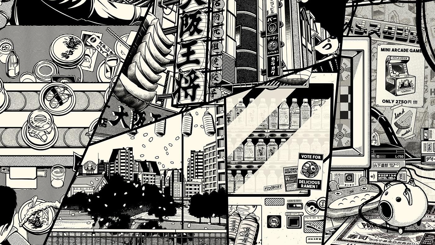 paiheme paihemestudio Lookbook Clothing motion japanese vintage tokyo Paris free download