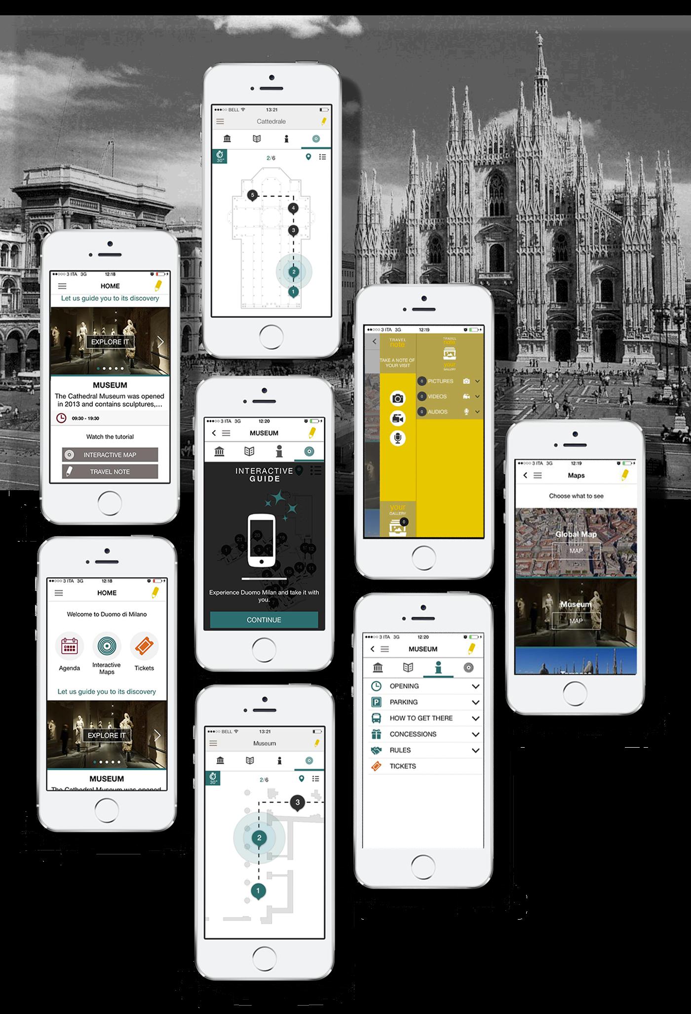 Duomo Di Milano On Behance Bluetooth Transmitter Circuit Diagram Magic At Your Fingertip