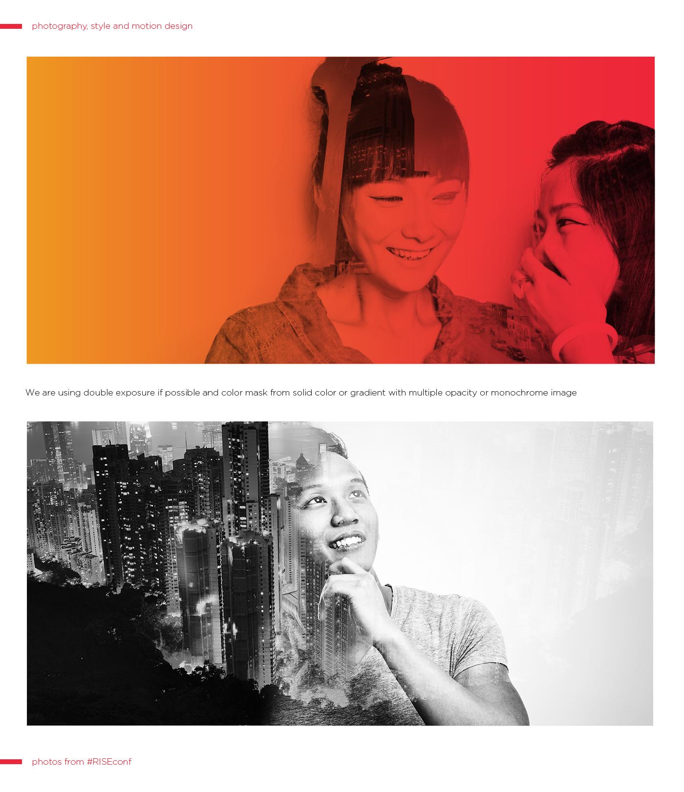 websummit riseconf hongkong asia Startup logo geometric Dynamic conference dublin Ireland fresh colors gradients shapes