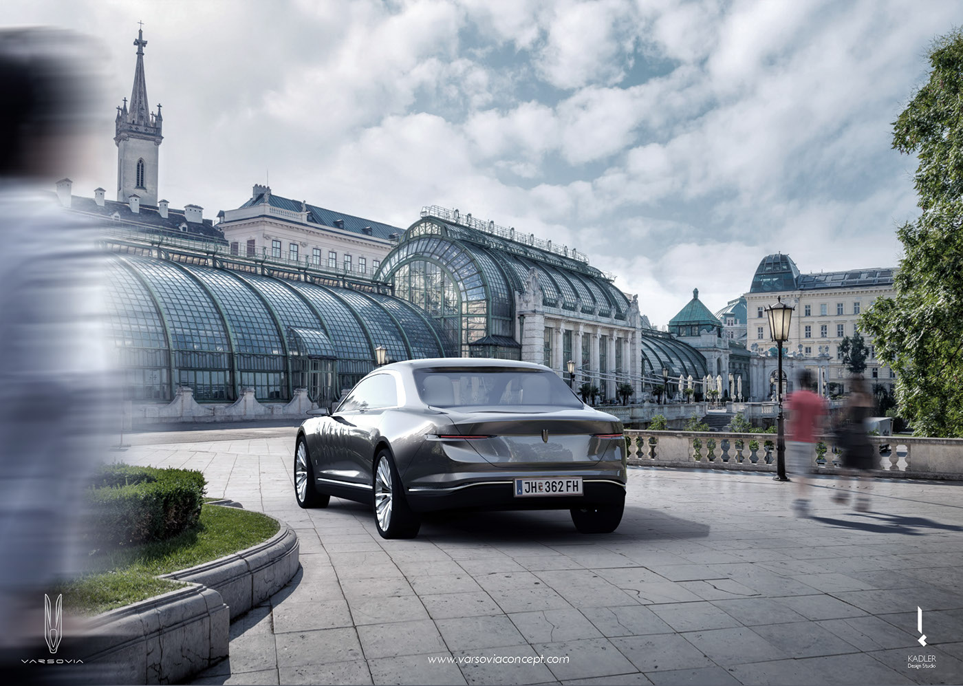 varsovia concept motor company car design Automotive design Transportation Design concept car rendering