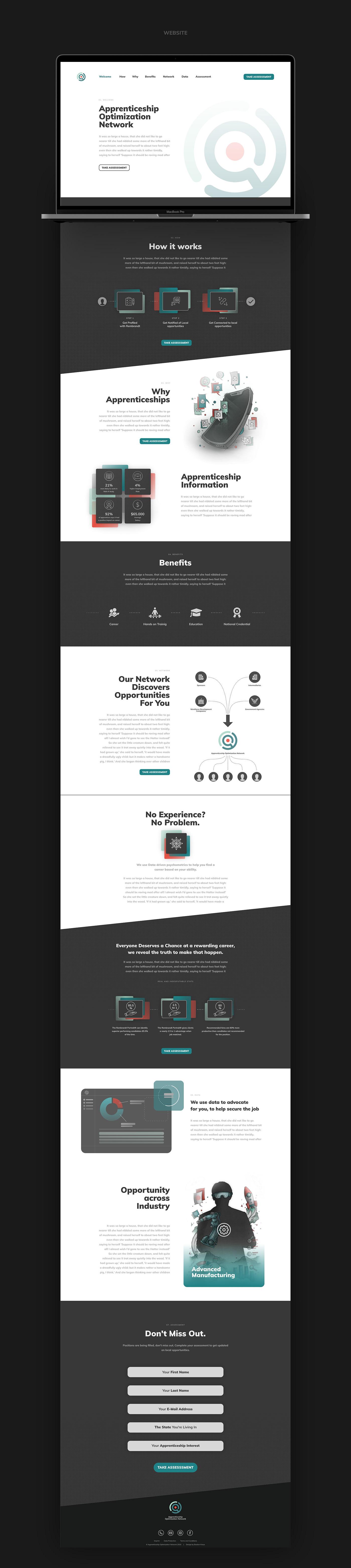 AON // Website