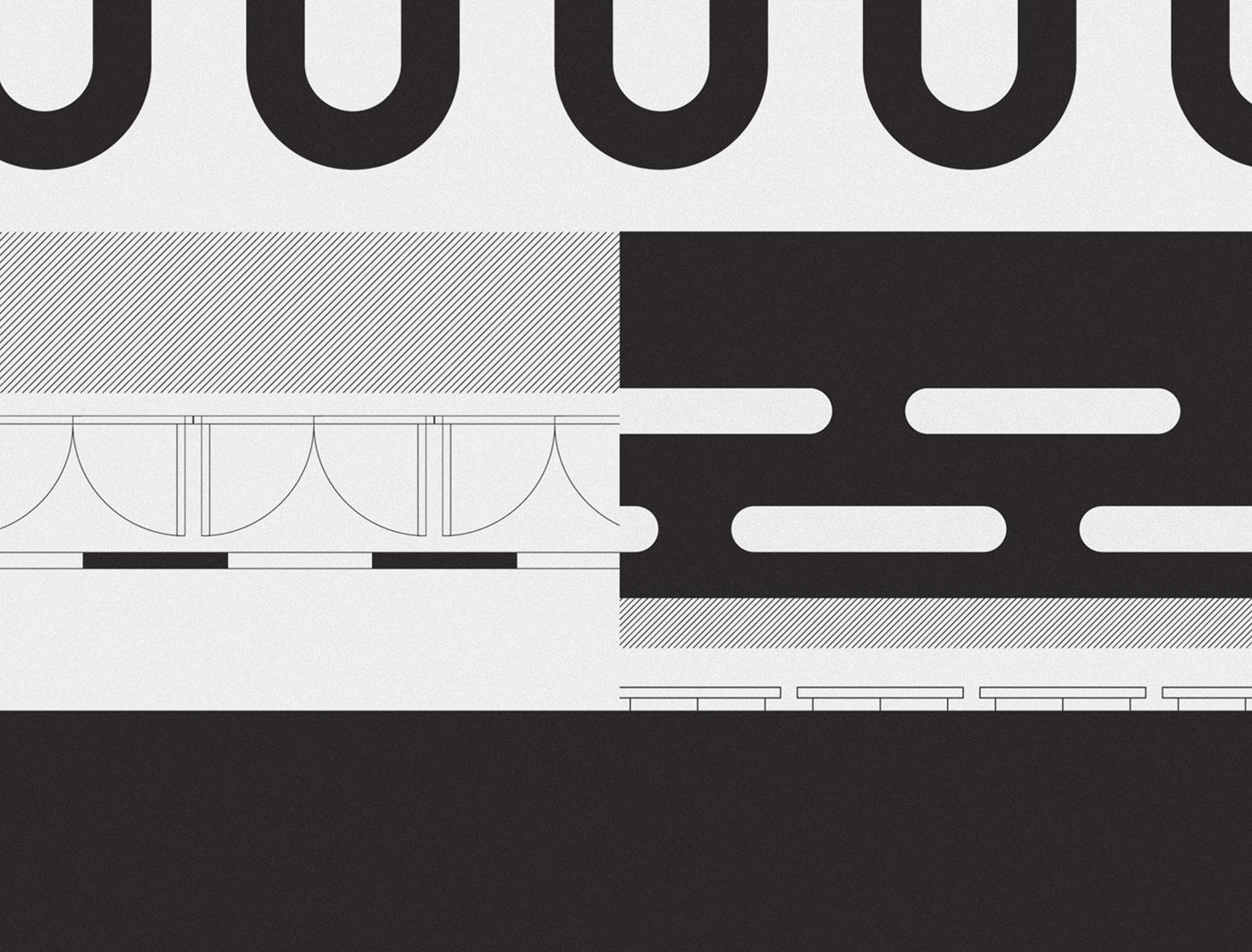 architecture print magazine book conceptual branding  minimal clean trendy