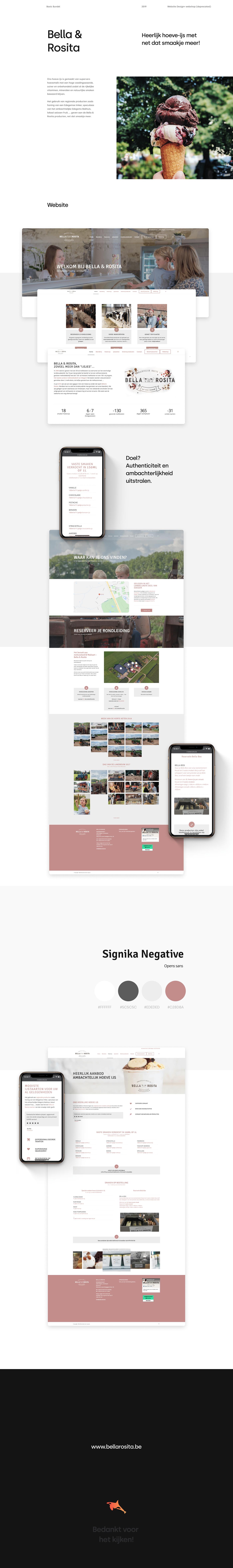 design icecream minimal minimal design minimal website shop