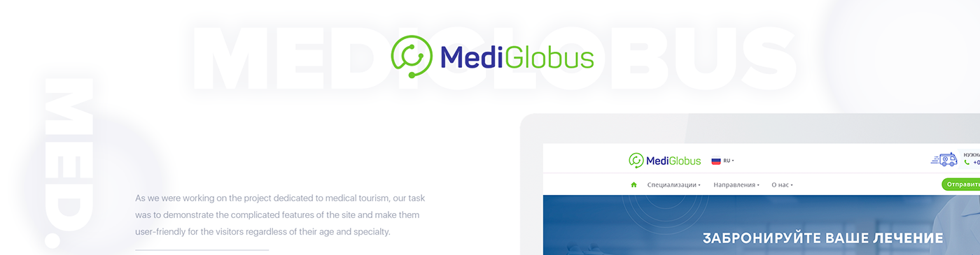 UI ux Web medical hospital doctor animation  infographic icons site