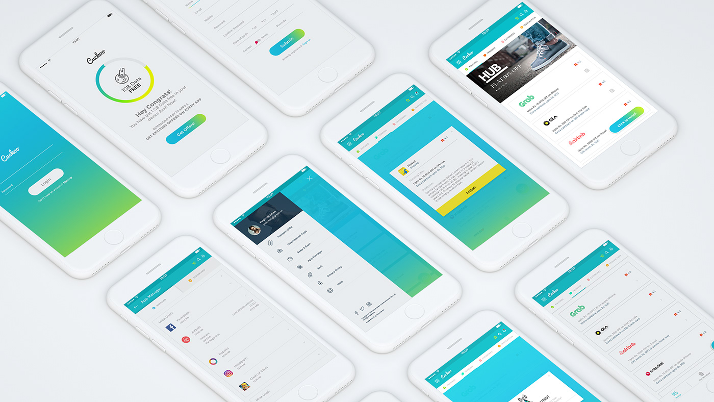 Clean And Simple Mobile App Ui Design Inspirational On Behance
