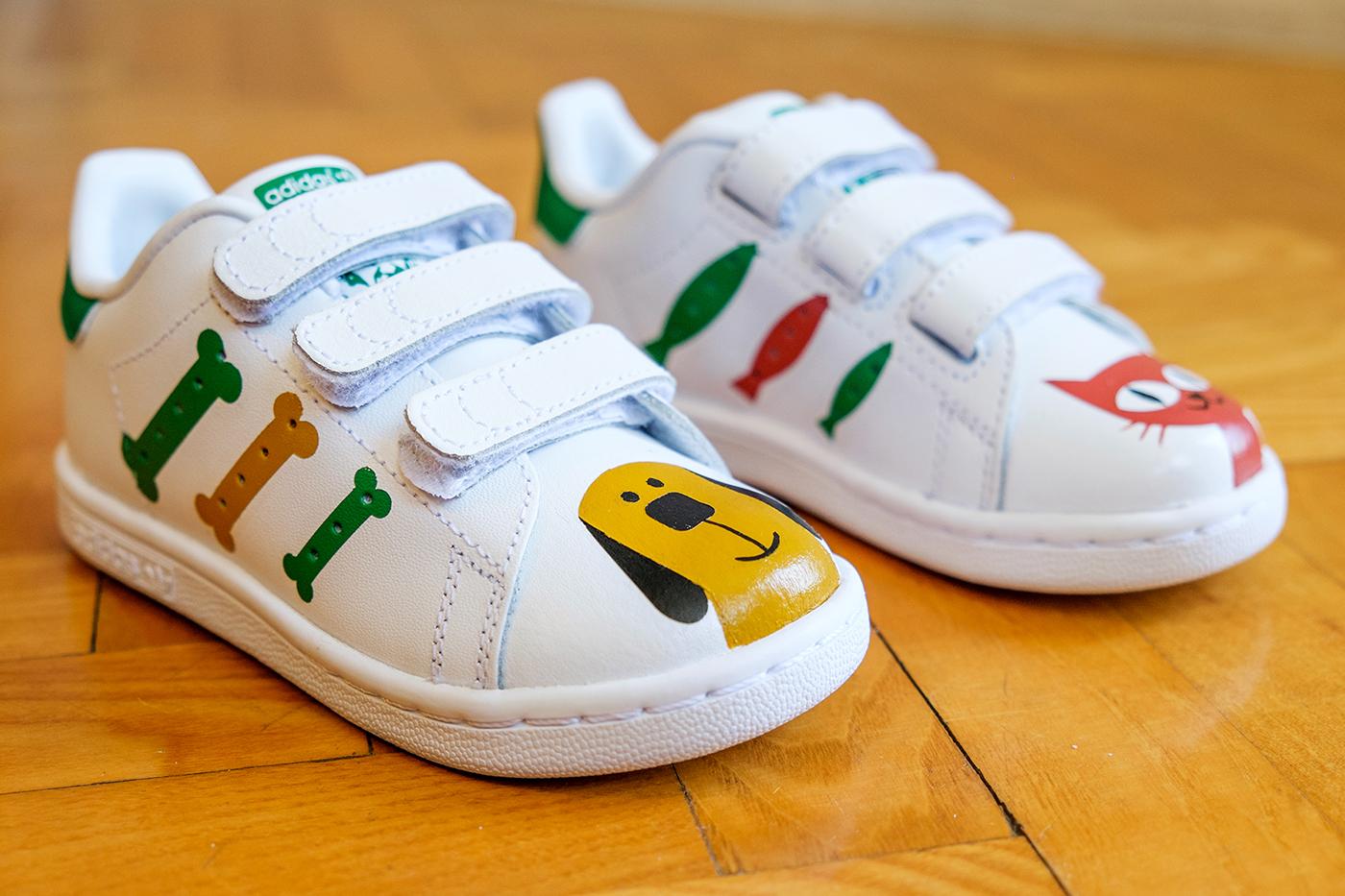 huge discount f33b8 92601 Stan Smith custom shoes on Behance