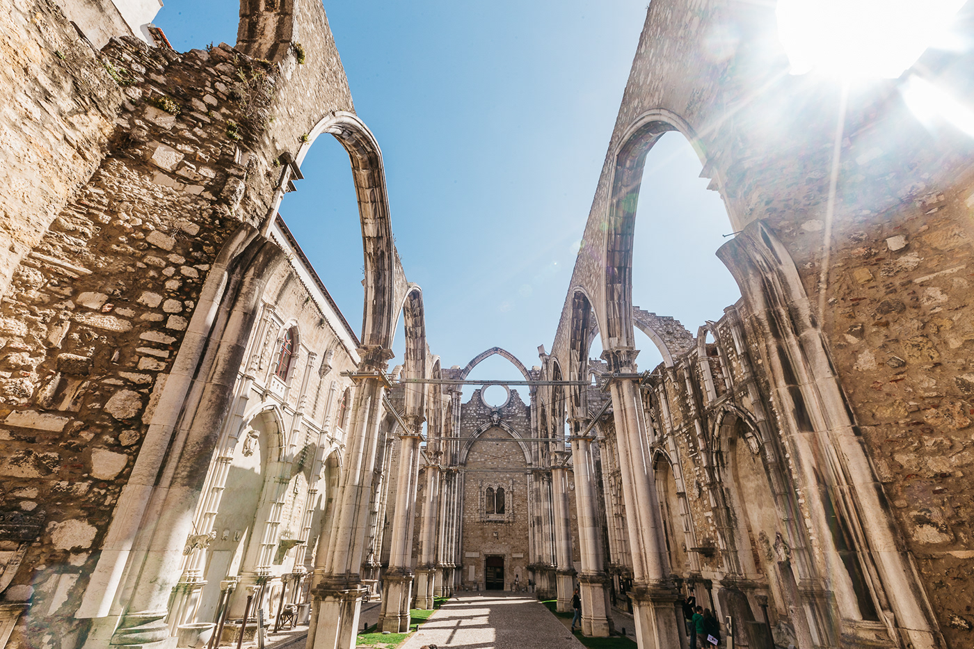 Carmo Convent - Lisbon - Portugal (2015) on Behance