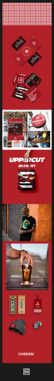 Boxing branding  brewery craft beer design graphic design  Logotype visual identity