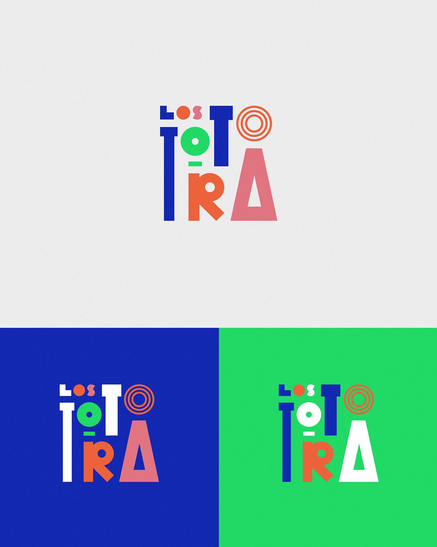 pop music band Show visuals ads shapes cumbia