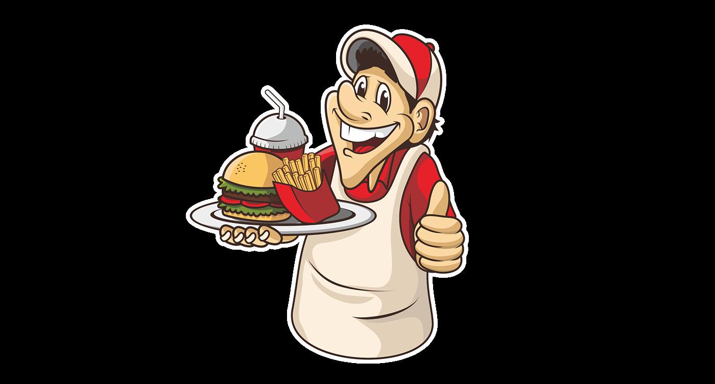 fast food flyer menu on behance