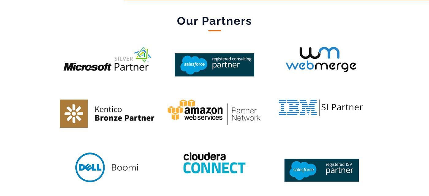 Partnership Page Design On Behance