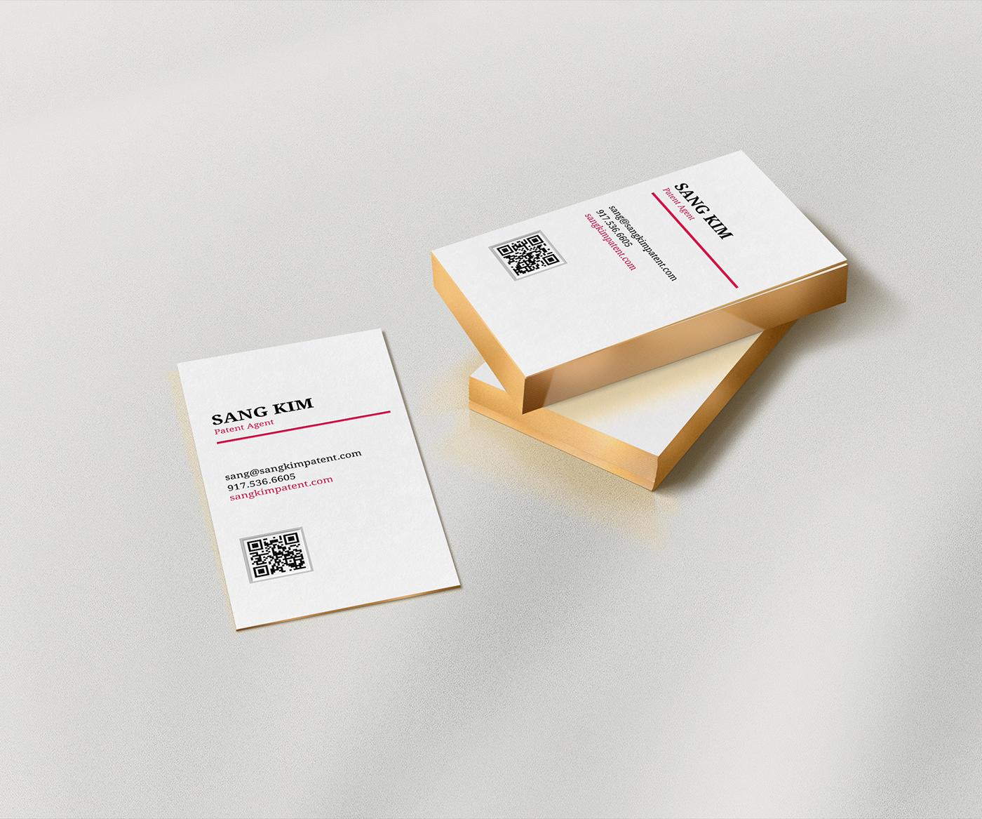 Sang Kim Business Card on Behance