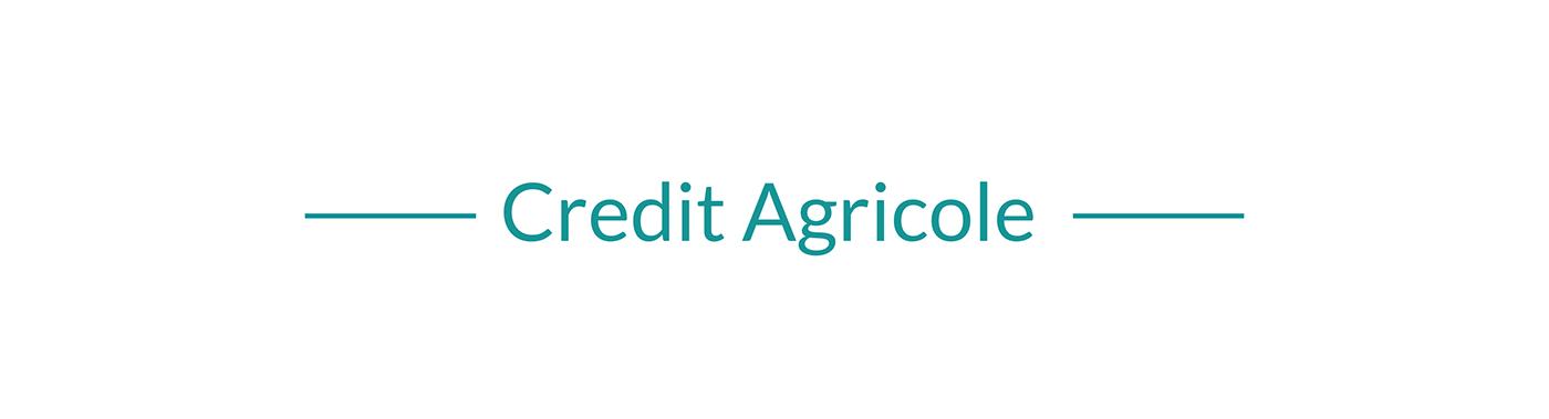 Bank Credit Agricole design development laravel site ukraine vis-a-vis Web