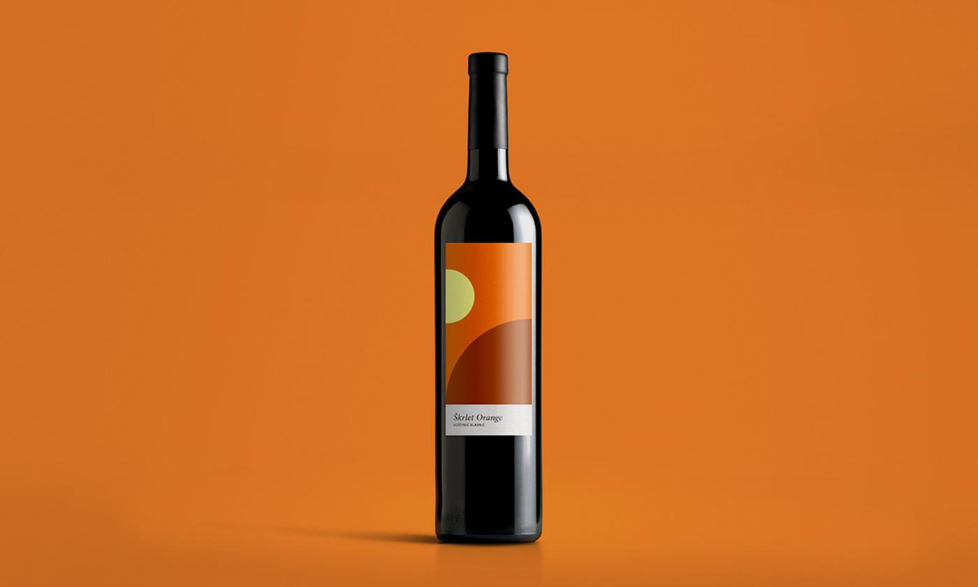 wine winelabel winedesign productdesign alcohol geometry minimal