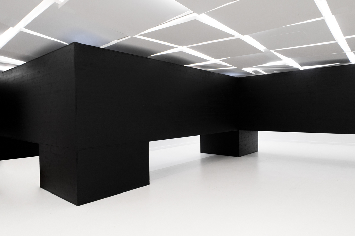 lang baumann galerie des galieres contemporary art architecture Photography  Dario Ruggiero art installation