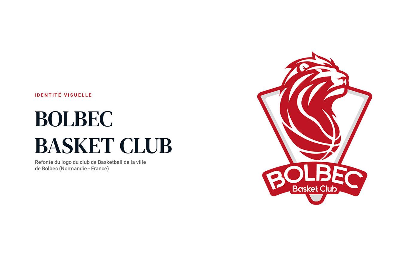 basket club basketball identité visuelle logo basket club Logotype sport