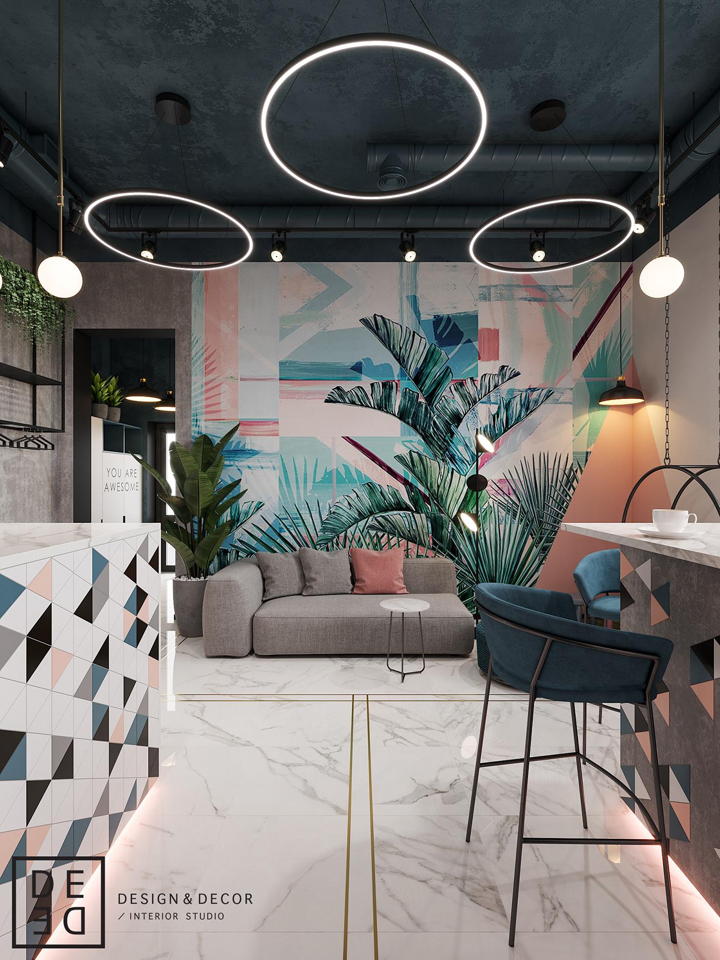 Interior design interiordesign Minimalism modern DE&DE Interior Studio interiordesigner corona render  3d max photoshop