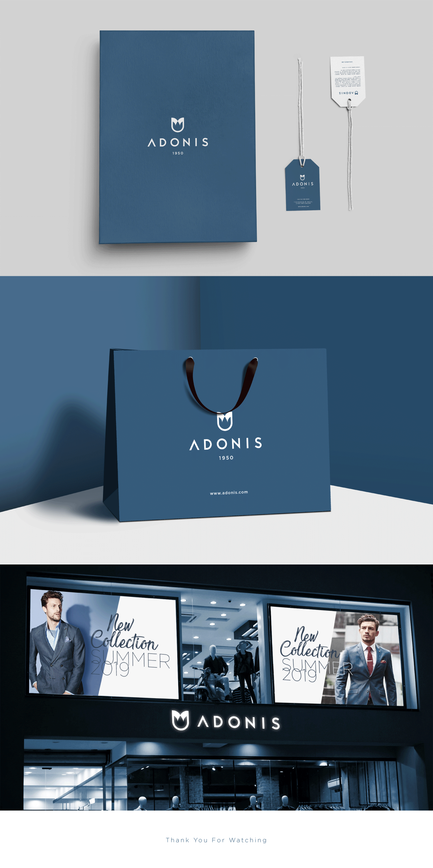 brand Menswear suit Adonis blue Fashion  mythology sketch tie