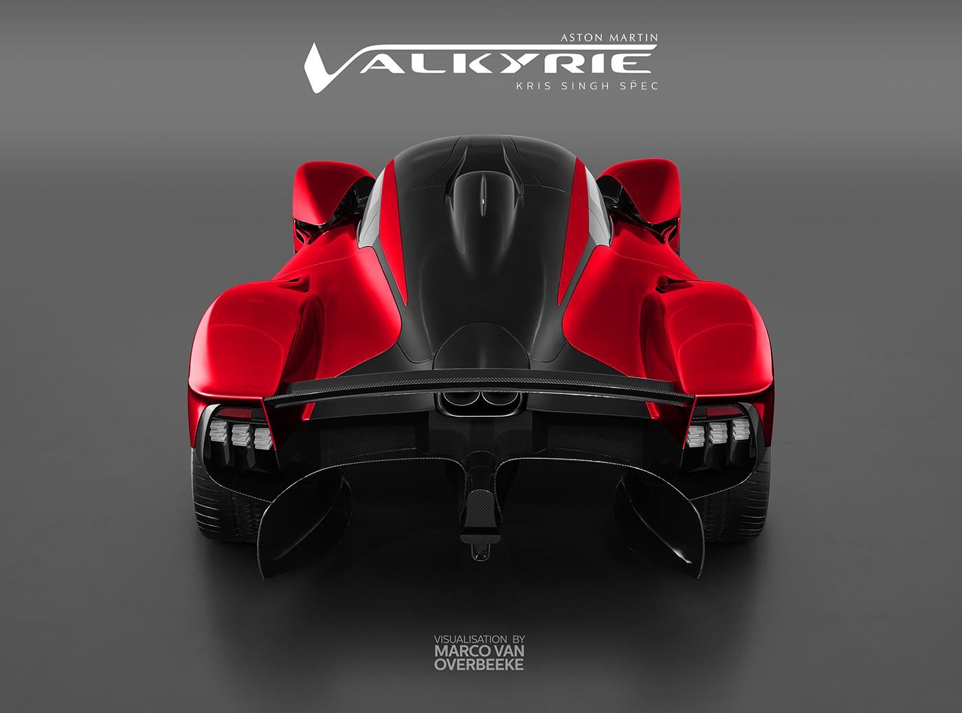 Aston Martin Valkyrie Kris Singh Custom Spec On Behance
