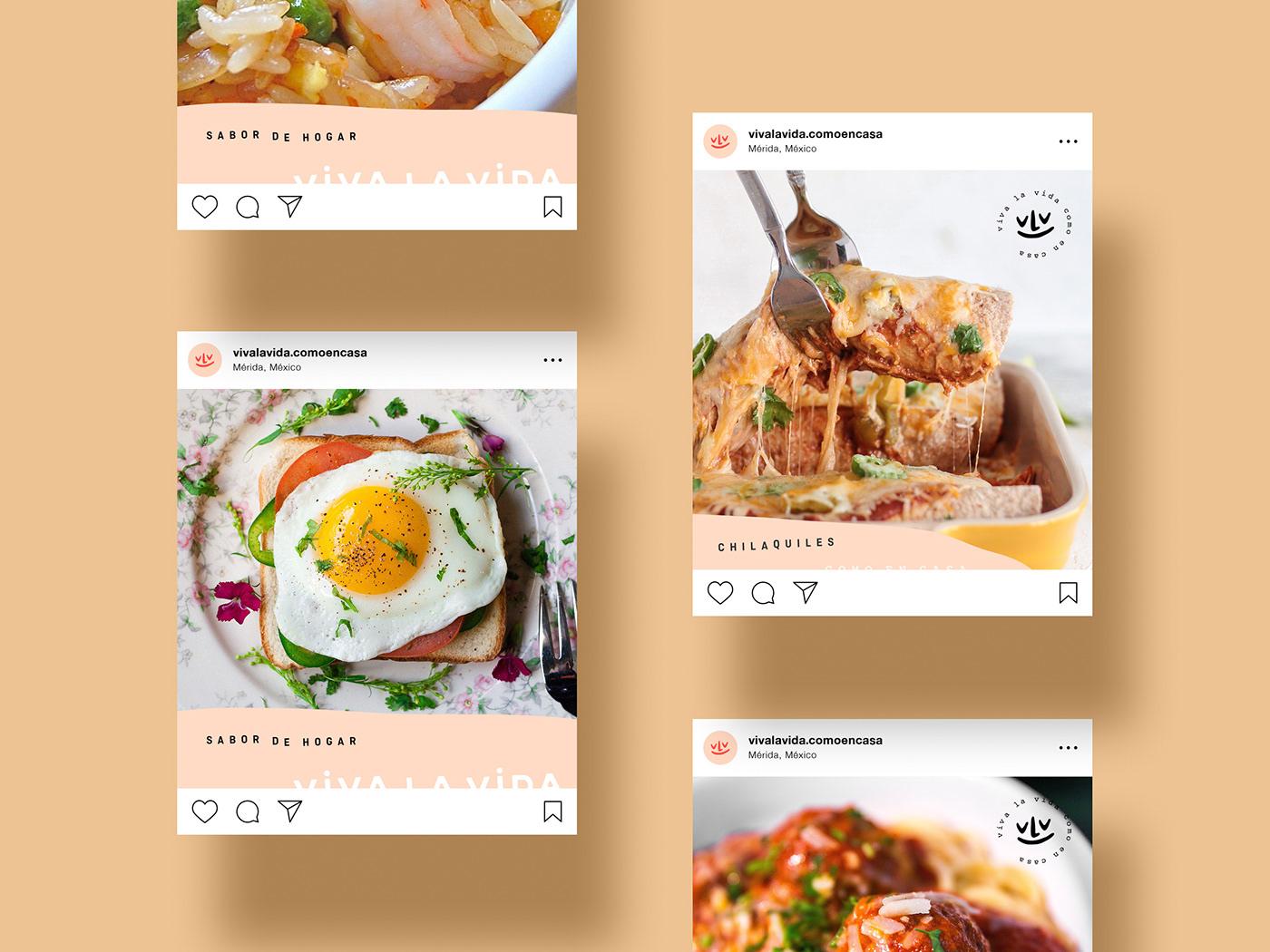 vegrande restaurant mérida mexico branding  identity design homemade Food  Packaging