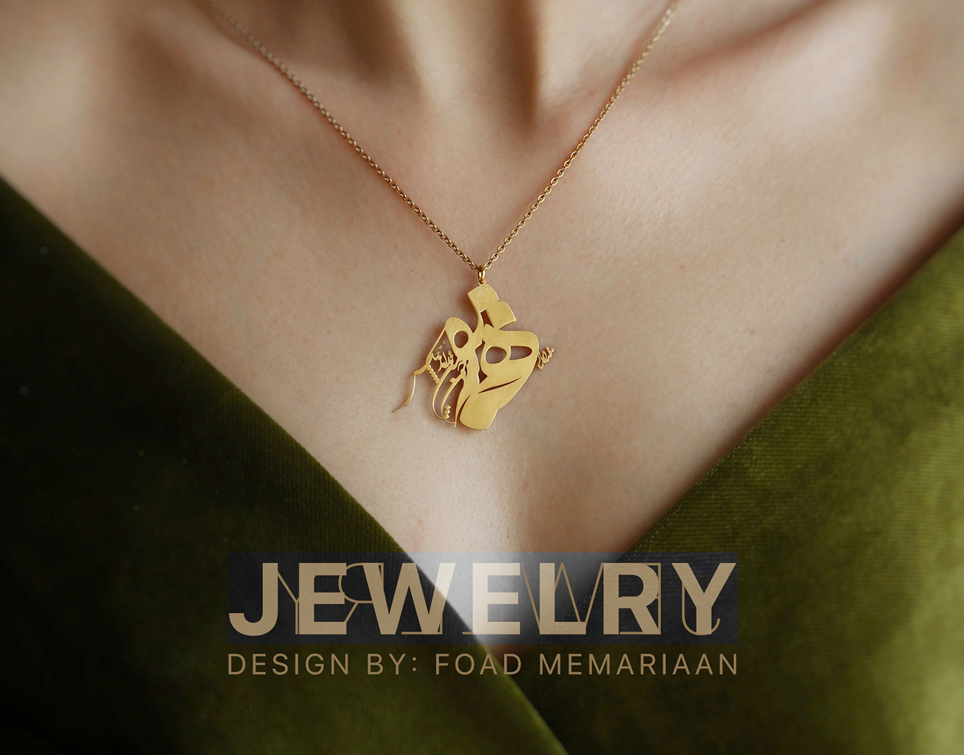 arabic calligraphy arabic design Calligraphy jewelry calligraphy necklace jewelry memariaan Necklace necklace design persian
