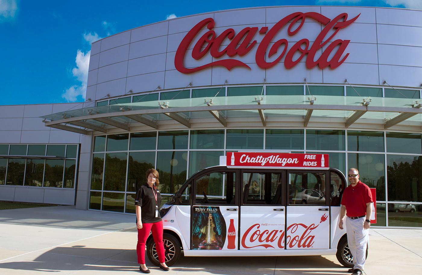 Coca-Cola chattanooga Vehicle Wrap
