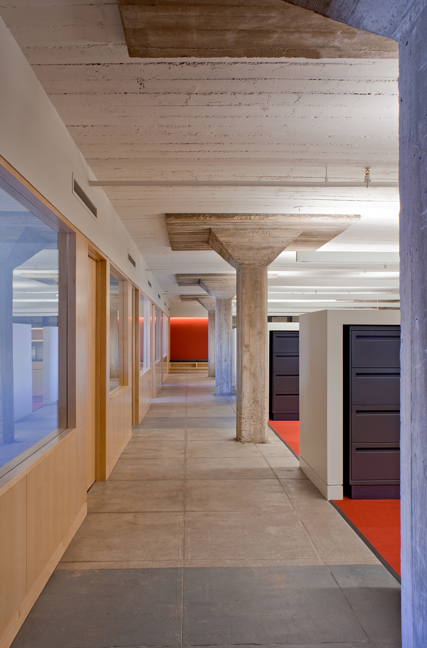 Office Design Office Space Contract design Office minimalist Minimalism industrial LOFT communal space midcentury MID-CENTURY modern contemporary concrete Sustainable