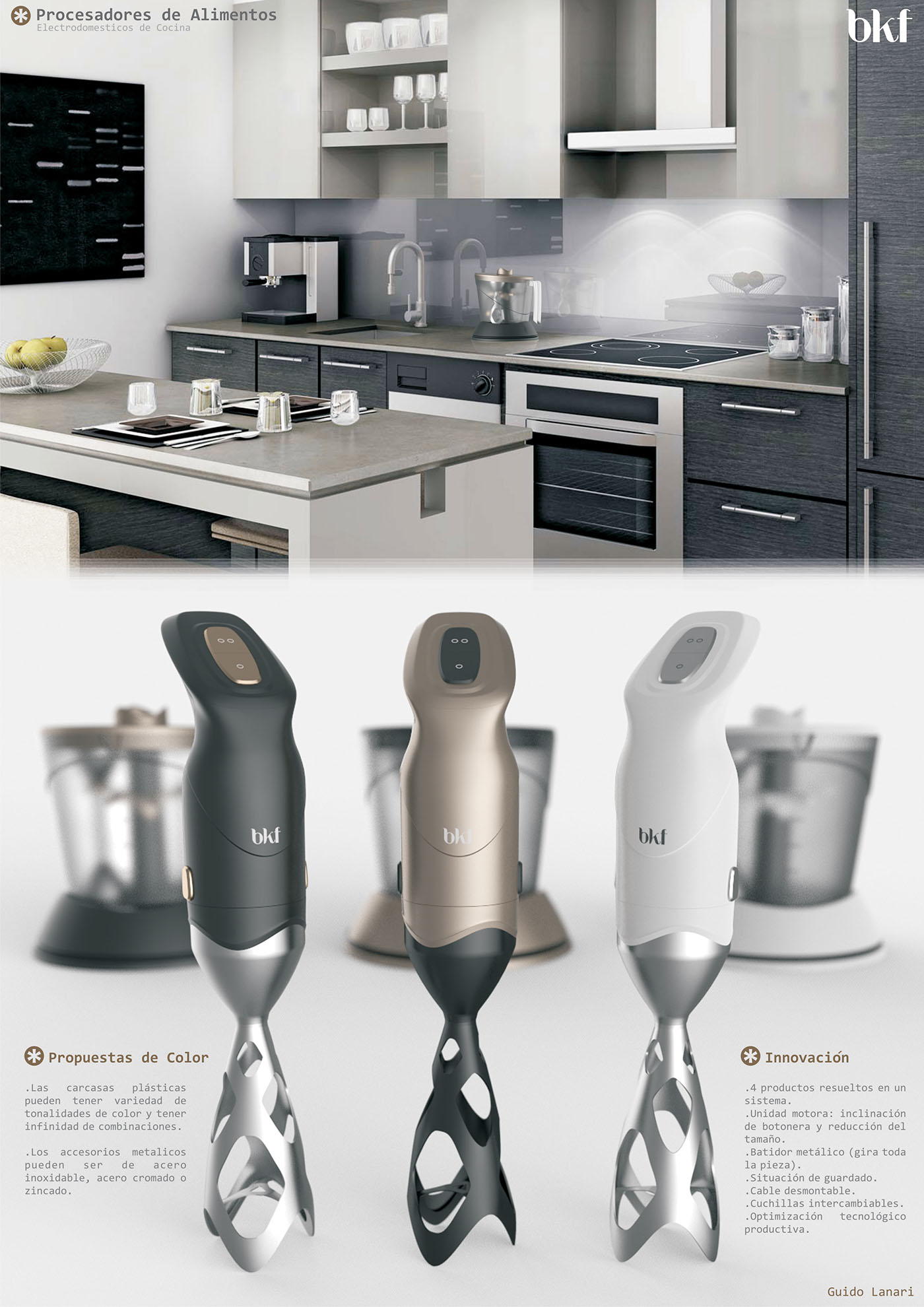 Kitchen Appliances on Behance