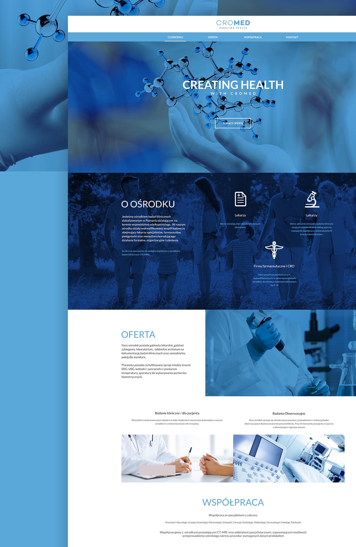 Website medical hospital