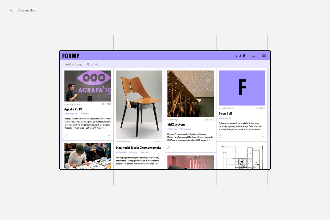 Web Web Design  Adobe XD xD magazine Layout online online magazine web site design