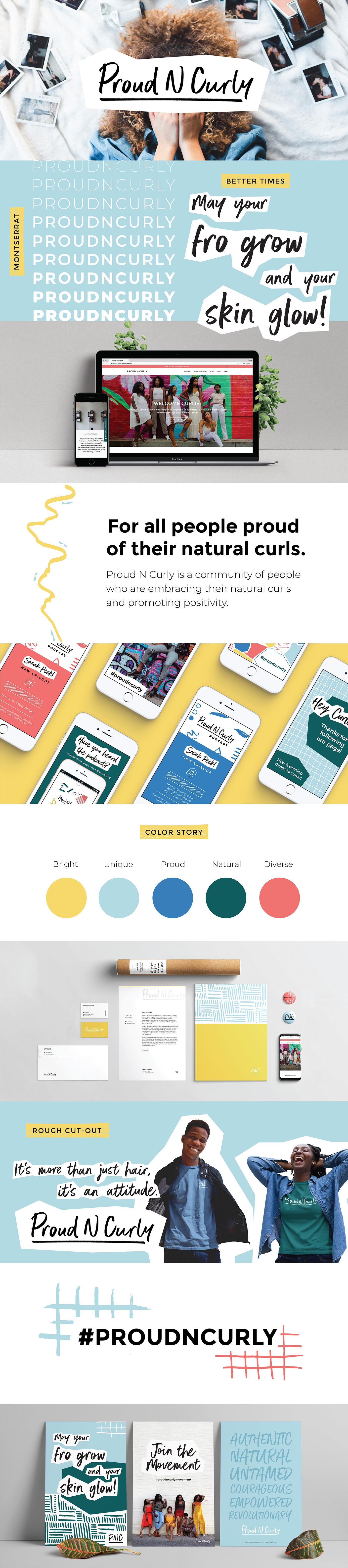 branding  graphic design  Logo Design print design  Web Design  brand strategy Social Media Content natural hair digital design