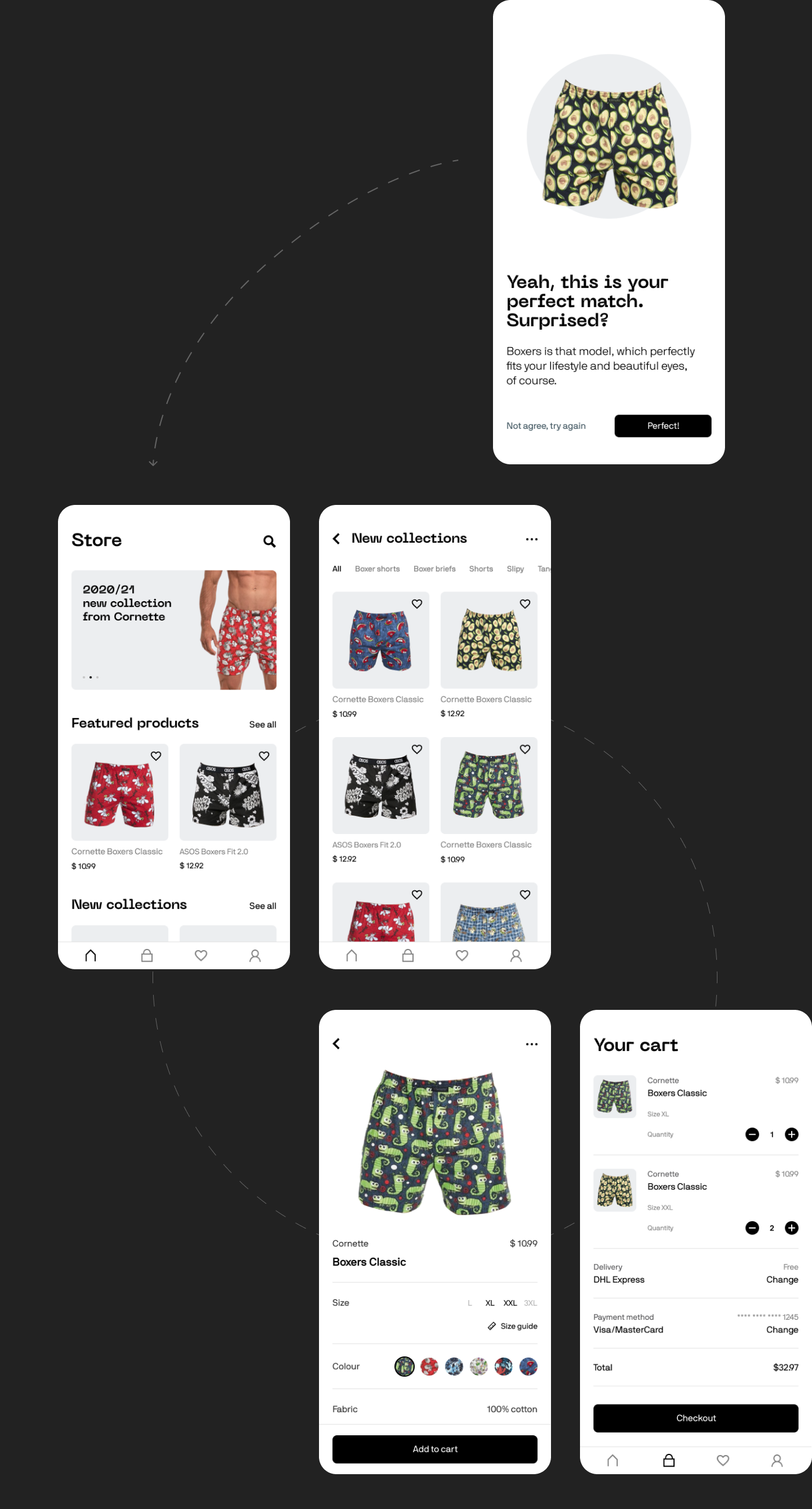app app design designline DLchallenge dlgym DLweekly e-commerce UI ui design ux