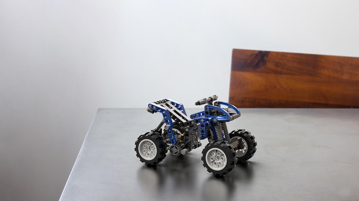LEGO QUAD - Adobe Dimension CC on Behance