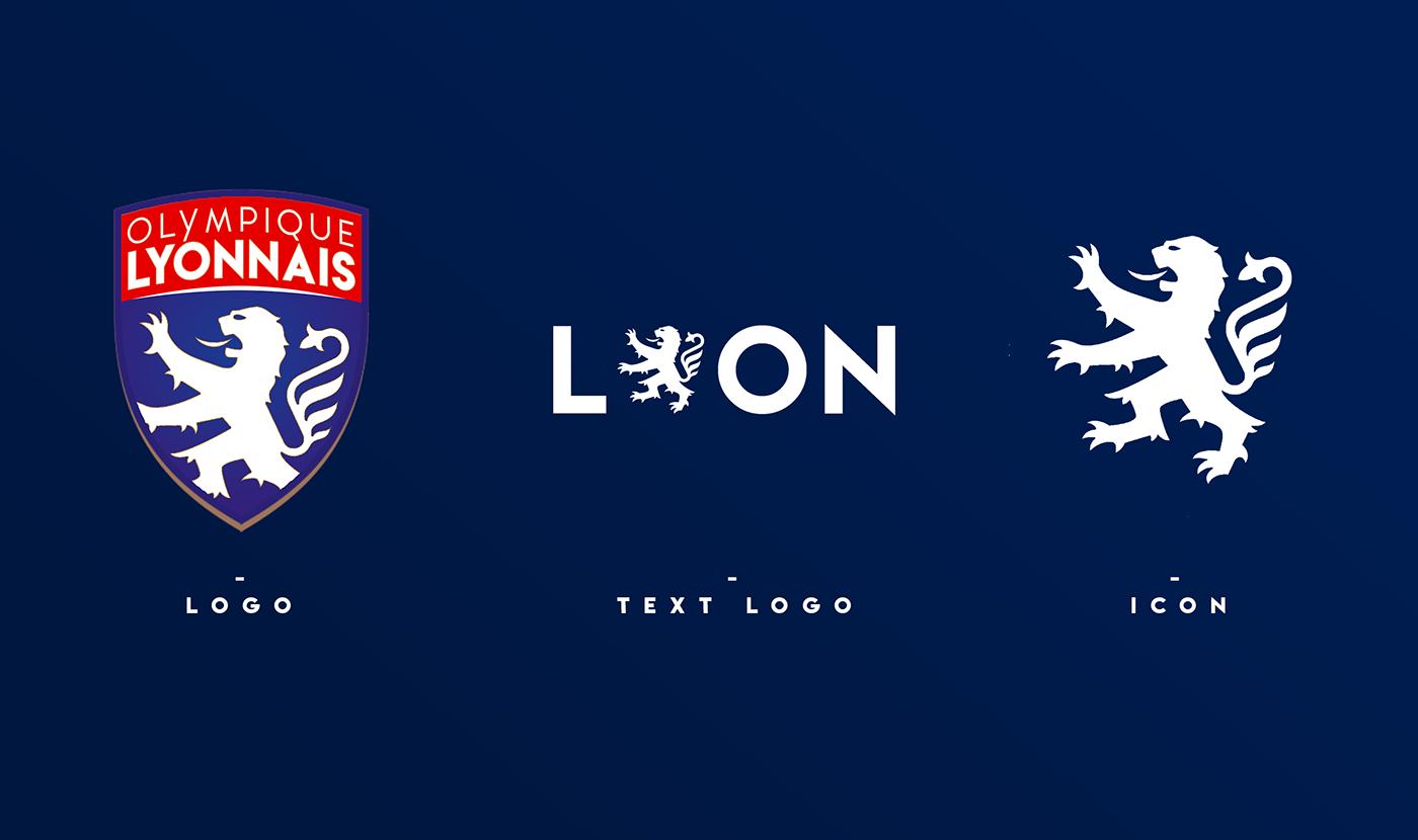 c63294db2 Olympique lyonnais logo remake on behance png 1400x830 Olympique lyonnais  logo concept