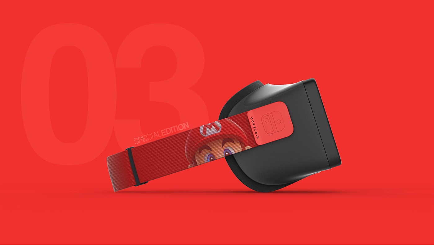 Nintendo switch vr Virtual reality beynel game zelda mario hmd Experience