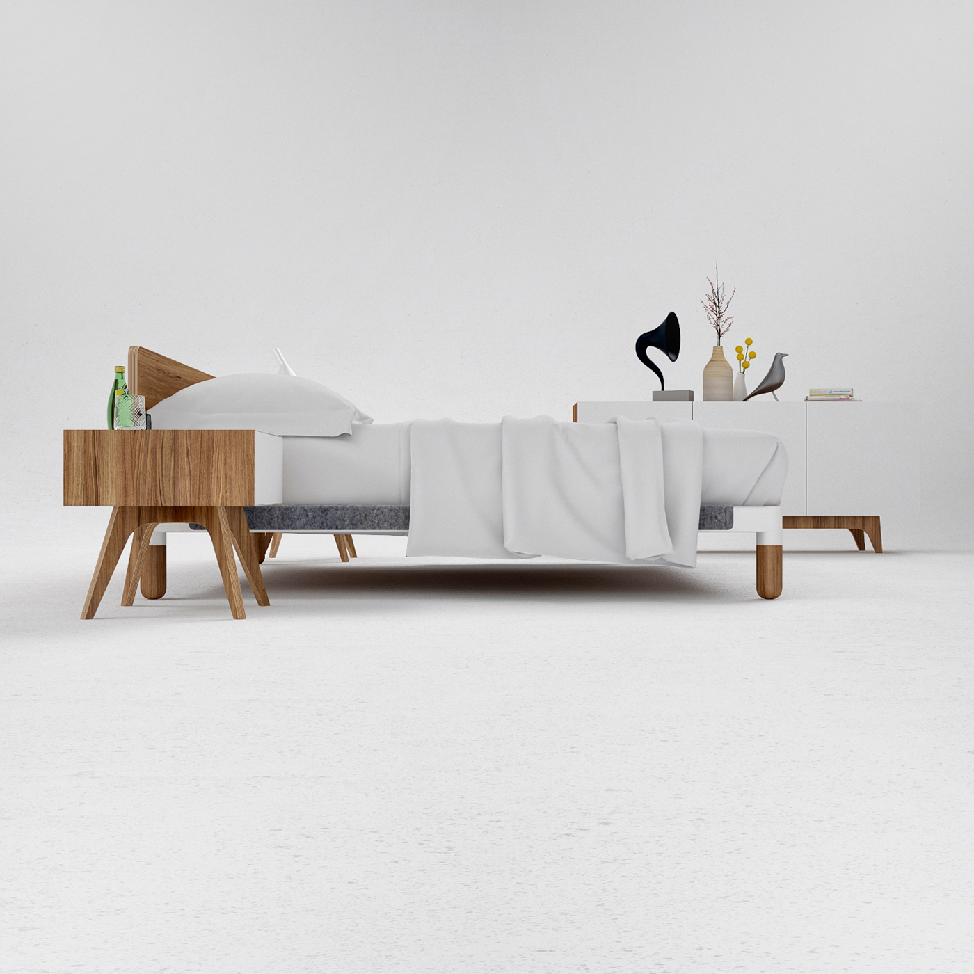 R1 Bed On Behance