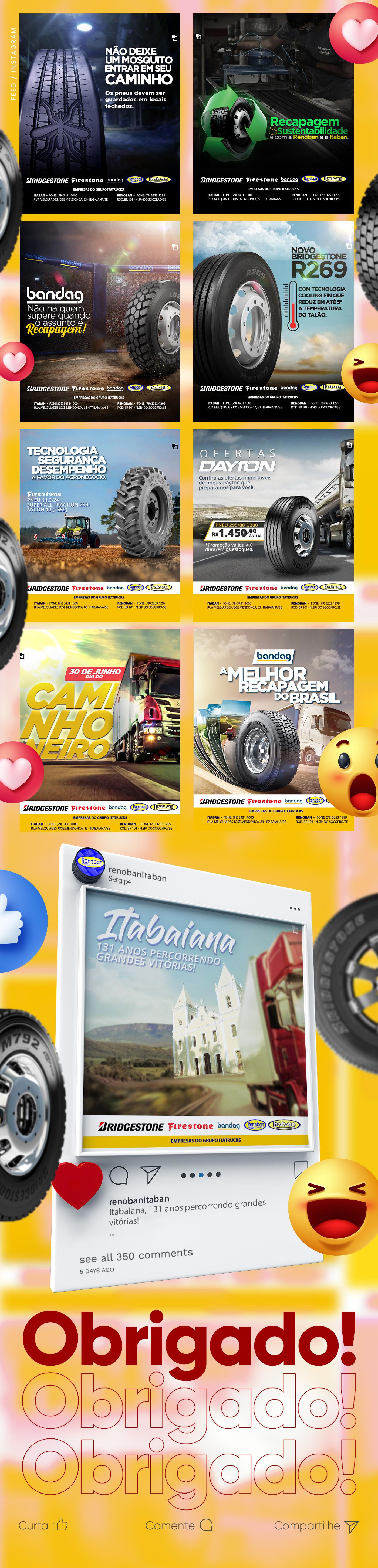 Caminhão facebook instagram marketing digital oficina photoshop Pneu rede social sergipe social media