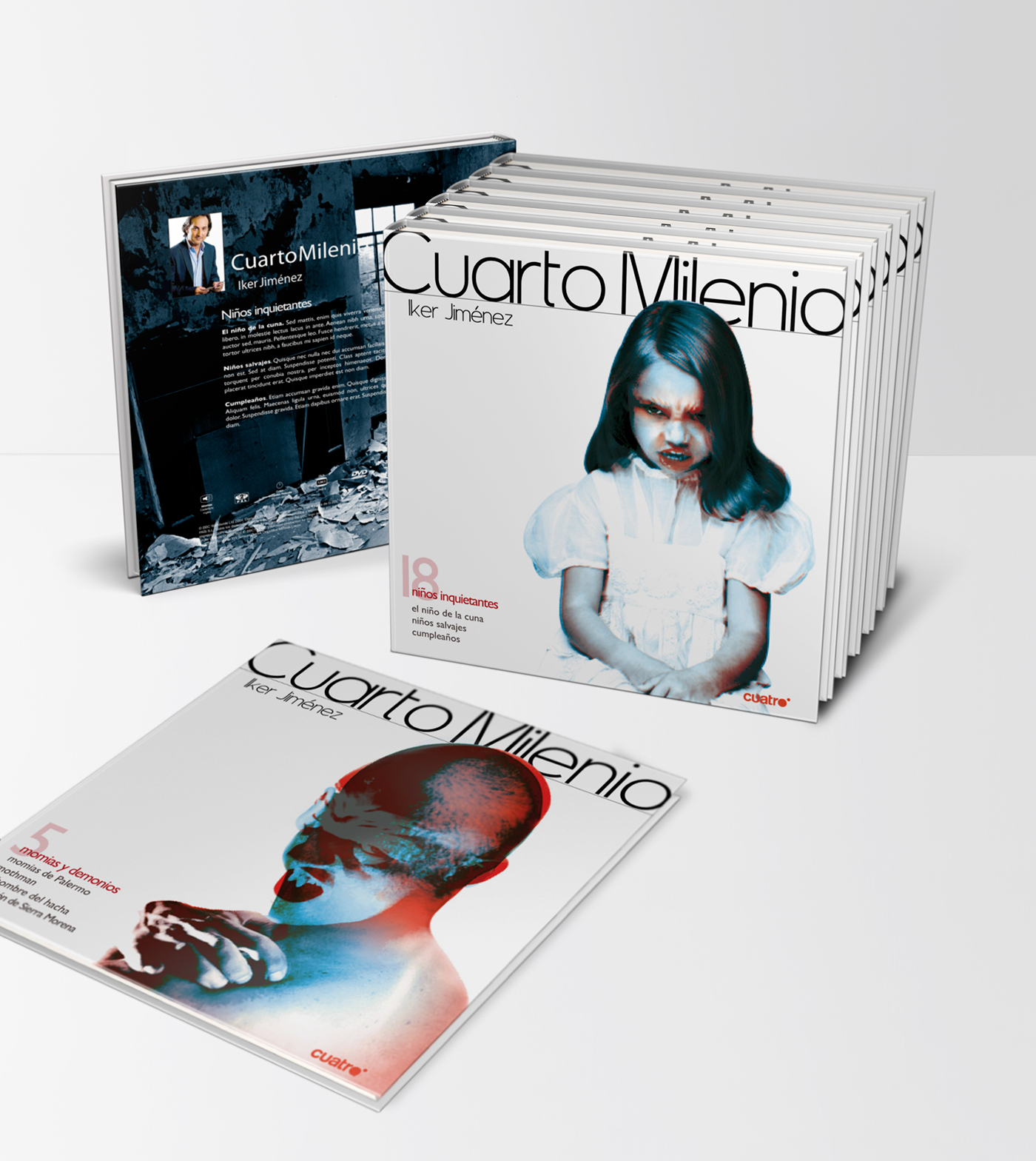 Cuarto Milenio Book Collection on Behance