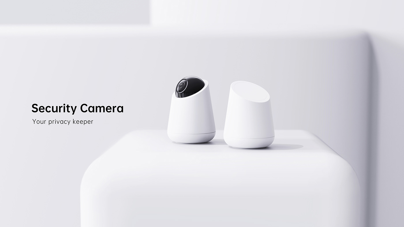 camera industrial design  product design  security product